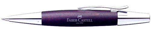 파버 카스텔(Faber Castell) 볼 펜 유성 emotion 우드&크롬 암갈색 148381 정규 수입품