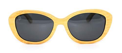 Óculos De Sol De Bambu Carmine, MafiawooD