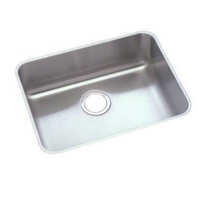 Elkay PLAUH211510 Pursuit 18-1/4-Inch x 23-1/2-Inch Single Basin Undermount Stainless Steel Kitchen Sink by Elkay by Elkay