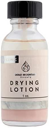 Acne Spot Treatment Drying Lotion - Face Cystic Acne Treatment, Zit Cream, Pimple Cream Blemish Treatment Acne Treatment w/Zinc Oxide, Sulfur, Salicylic Acid & Sea-Berry by Gold Mountain Beauty