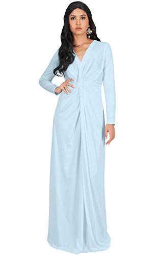 light blue plus size maxi dress - 6
