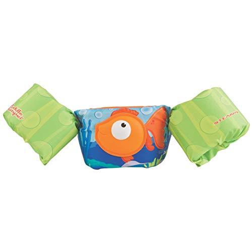 Puddle Jumper Stearns Kids Deluxe 3D Life Jacket Vest - Orange Fish ()