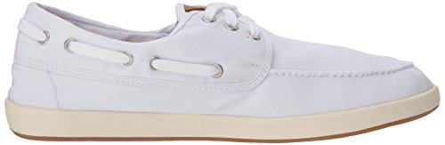Sperry Top-sider Mens Deriva 3-eye Barca Sneaker Bianco