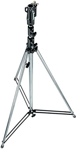 Manfrotto 111CSU 12- Feet Tall Cine Stand with Leveling Leg -