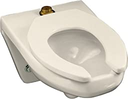 Kohler 4330-L-47 Kingston WallHung Bowl Commercial Toilet