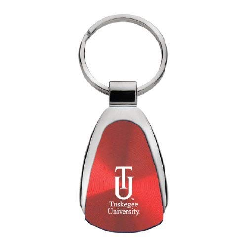 LXG, Inc. Tuskegee University - Teardrop Keychain - Red
