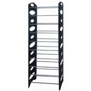 amazon etagere chaussures. Black Bedroom Furniture Sets. Home Design Ideas