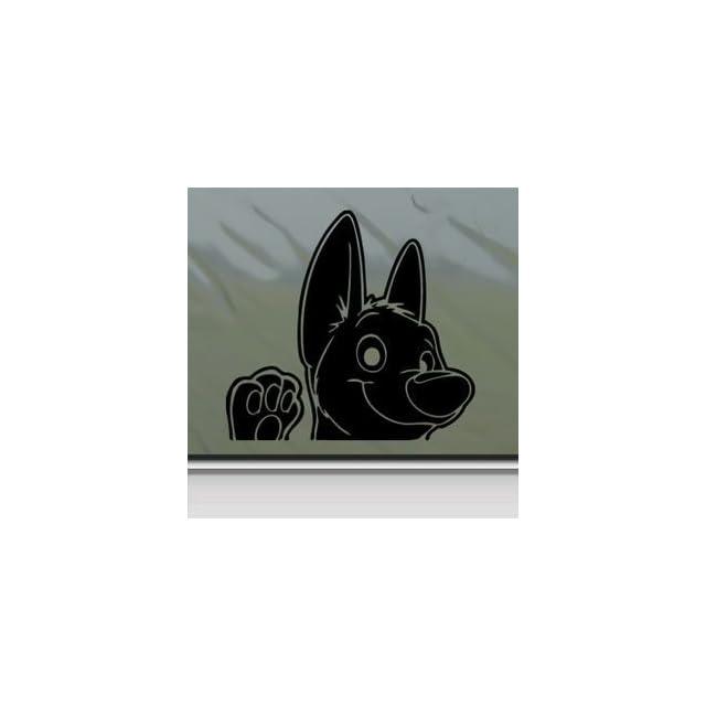 Bolt Dog Black Sticker Decal Disney Black Car Window Wall Macbook Notebook Laptop Sticker Decal   Decorative Wall Appliques