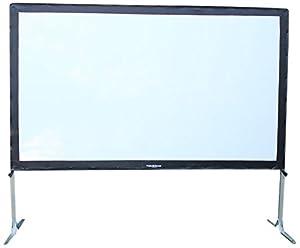 Visual Apex ProjectoScreen100HD Portable Movie Theater Projector Screen 16:9 format