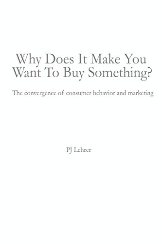 Why Does It Make You Want To Buy Something?  The convergence of consumer behavior and marketing