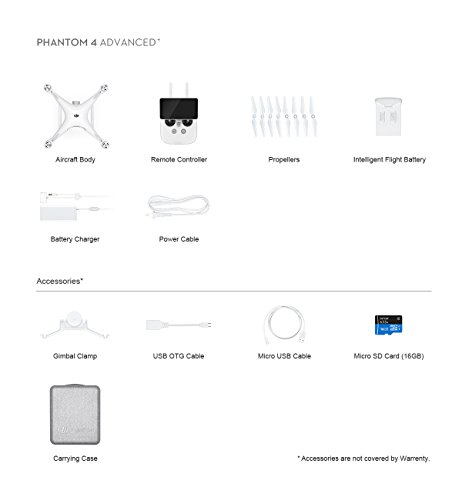 2018-Version-DJI-Intellectual-Phantom-4-Advanced-4K-Video-Includes-Remote-Controller-with-Built-in-FHD-1080P-55-Touchscreen-30-Min-Flight-Time-5-Vision-Sensors-White-CPPT000698