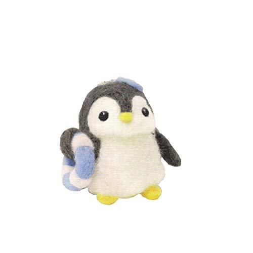 (Cool Beans Boutique Wool Felting DIY Kit (Penguin))