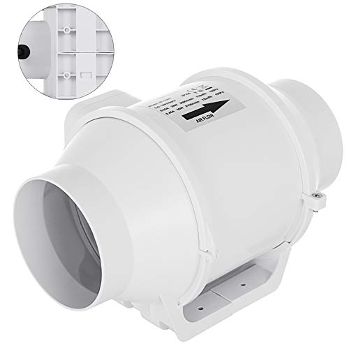- Mophorn Inline Duct Fan 4 Inch 100 CFM Mixed Flow Fan Inline Exhaust Blower for Home Ventilation Bathroom and Grow Room Vent