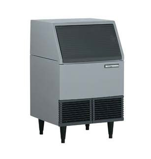 Scotsman AFE424W-1A Water Cooled 395 Lb Undercounter Flake Ice Machine (Undercounter Water Cooled Ice Machine)