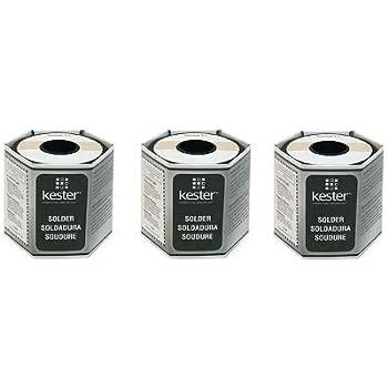 Kester24-6337-8806 245 No-Clean Flux Core Solder, 63/37 .015