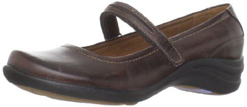 Hush Puppies Women's Epic Mary Slip-On Loafer,Dark Brown,10 M -