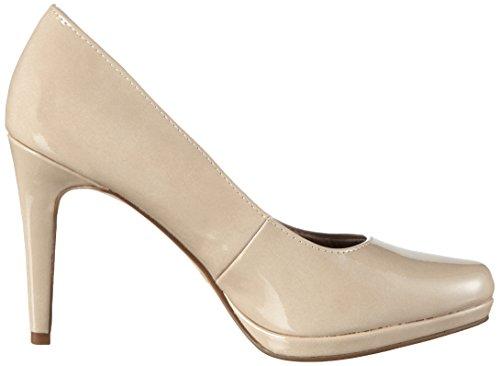 Tamaris 22448 - Sandalias con plataforma Mujer Beige - Beige (CREAM PATENT 452)