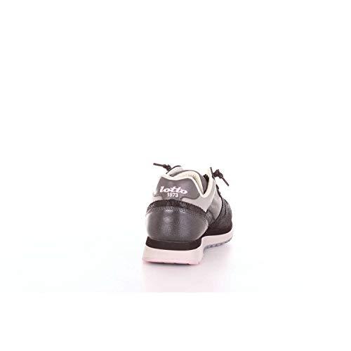 Wedge Nero Sneakers T4628 Lotto Glitter Tokyo Grigio Nero Laminato W E wEaFgqWq