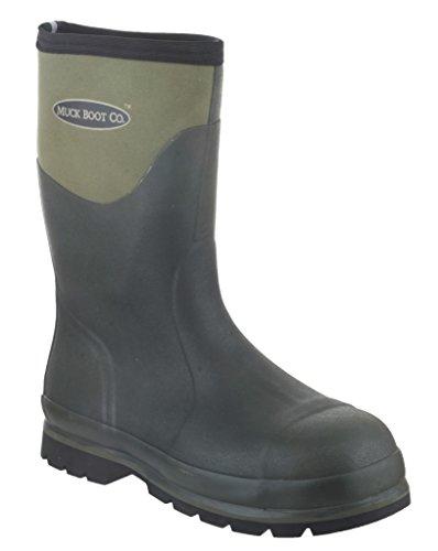 Humber Muck Unisex Stiefel, wasserdicht, leicht, flexibel, Moos Moos Gummistiefel, Schuh