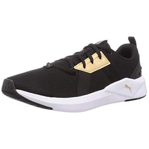 chollos oferta descuentos barato PUMA Chroma Wn S Zapatillas de Gimnasio Mujer Negro Black Team Gold 42 EU