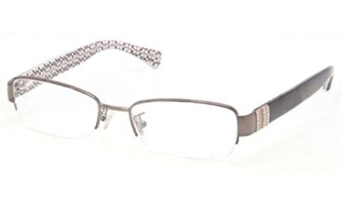 Coach Women's HC5027B Eyeglasses Dark Silver/Black 52mm by Coach