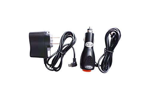 MaxLLToTM 2A Car Charger + AC/DC Wall Power Adapter Cord For Garmin GPS nuvi 2699 LM/T HD