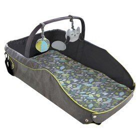 Eddie Bauer Infant Travel Bed - Black/green
