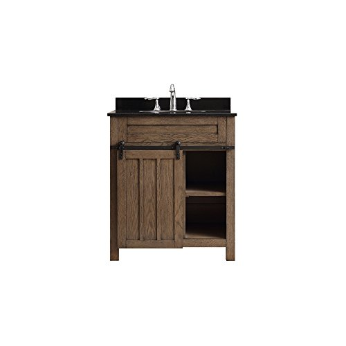 Bathroom Vanity Nutmeg Single - Ove Decors Oakland 30 Classic Nutmeg Freestanding Vanity,