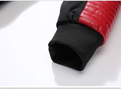 Con Bianco Cappotto colore Parka Addensare Invernale Lungo Cappotti Dimensioni Impermeabile Giù Red Red Cappuccio Uomo M Giacche Antivento Piumino Lihua Maschile wzvEpp