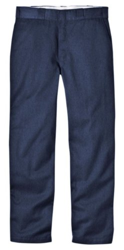 Dickies Men's Original 874 Work Pant, Air Force Blue, 44W x 32L