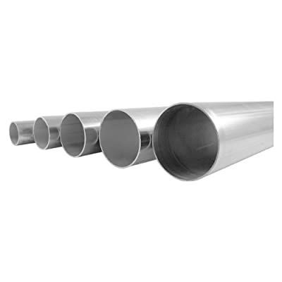 "1-5/8"" OD 304/304L Stainless Steel Tubing, Welded, 16 Gauge (.065) - 2' Length: Automotive"
