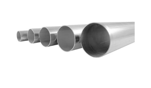 - 2 Length .065 16 Gauge Welded 1-1//4 OD 304//304L Stainless Steel Tubing