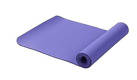 Amazon.com : GuiXinWeiHeng Monochrome Yoga mat TPE ...