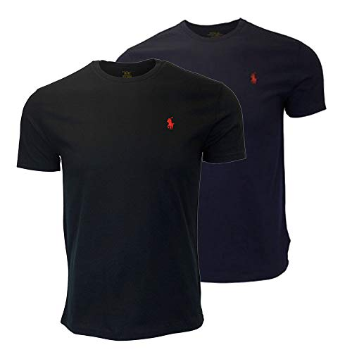Polo Ralph Lauren Men's Crew-Neck T-Shirt Bundle (2pk) (XX-Large, ()