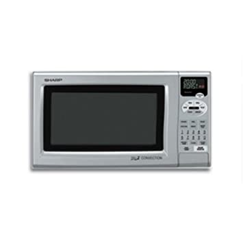 Amazoncom Sharp Double Grill Convection Countertop Microwave
