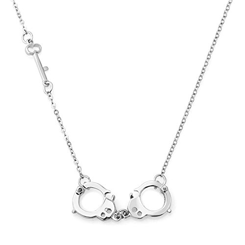CharmsStory Fetish Handcuff Necklace Pendant