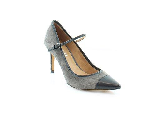 Coach Smith Women's Heels Mink/Black Size 5.5 M