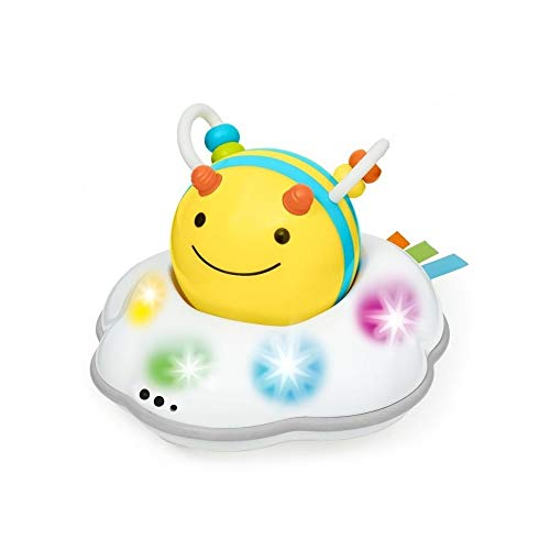 Skip Hop Developmental Learning Crawl Toy, Explore & More 3-Stage Follow-Me, Bee