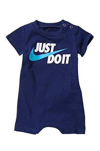 Nike Baby Boy Infant Shortall (Blue Void(66E637-U9J)/White, 9 -