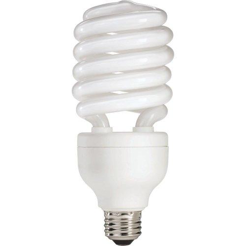 - Philips 139477 42-watt Equivalent, Soft White (3000K) 15-watt T4 Spiral CFL Light Bulb