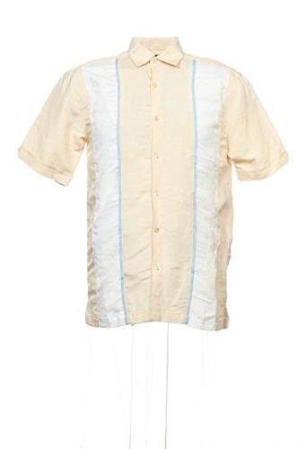 Linen Blend Camp Shirt - 9