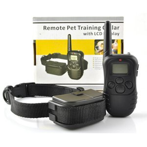 Esky 100LV Remote Control Dog Training Shock & Vibration VIBRATE Collar with LCD Display & Beep