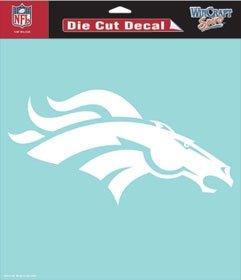 NFL Denver Broncos 8 X 8 Die Cut Decal Denver Broncos Tape Measure