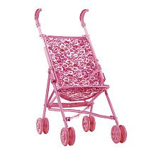 Amazon.com: You & Me Umbrella Doll Stroller: Pink and White Plaid ...