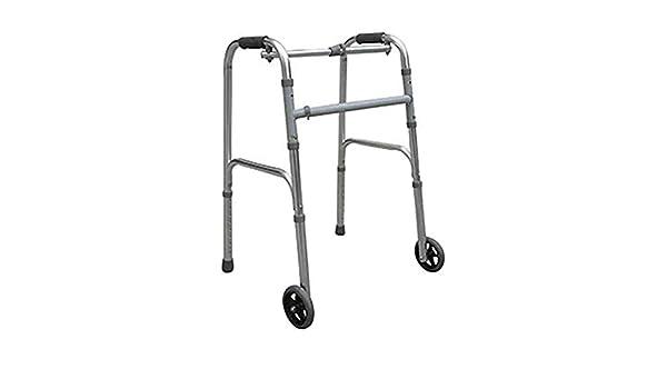 AWZSDF Andador de Dos Ruedas para Ancianos - Caminador ...