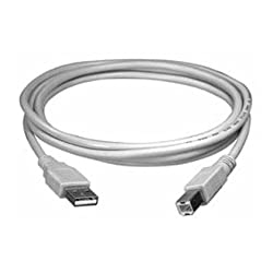 USB Printer Cable for HP PhotoSmart C3180 with Life Time Warranty