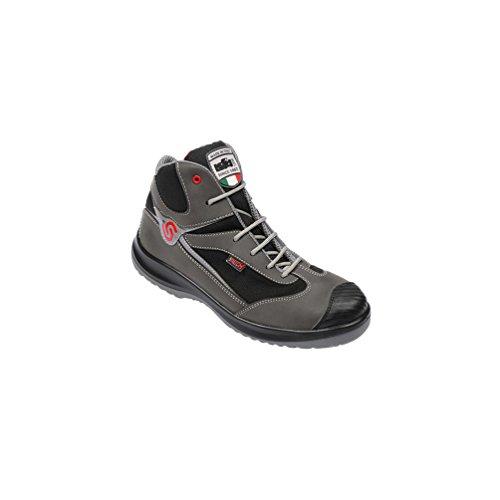 Noir Haute Src Industrial Leonardo Starter De Chaussures S3 43710 Sécurité Gris qxqwvIgRT