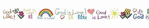 Carson Dellosa Christian God Is Love Borders (1437) (Christian Bulletin Board Supplies)