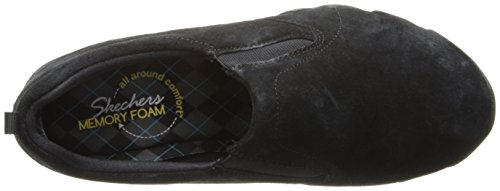 Skechers Endeavor-atmósfera de la zapatilla de deporte de la manera Black