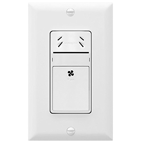Baby : TOPGREENER TDHS5 Humidity Sensor and Fan Control Switch, Humidity Sensor Switch, Fan Switch, Interchangeable Face Cover, Neutral Wire Required